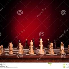 Chess Board Setup Diagram Bathtub Plumbing The Initial Of A Royalty Free Stock