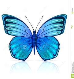 insecto azul mariposa aislado monarch butterfly clipart cartoon fly [ 1295 x 1300 Pixel ]