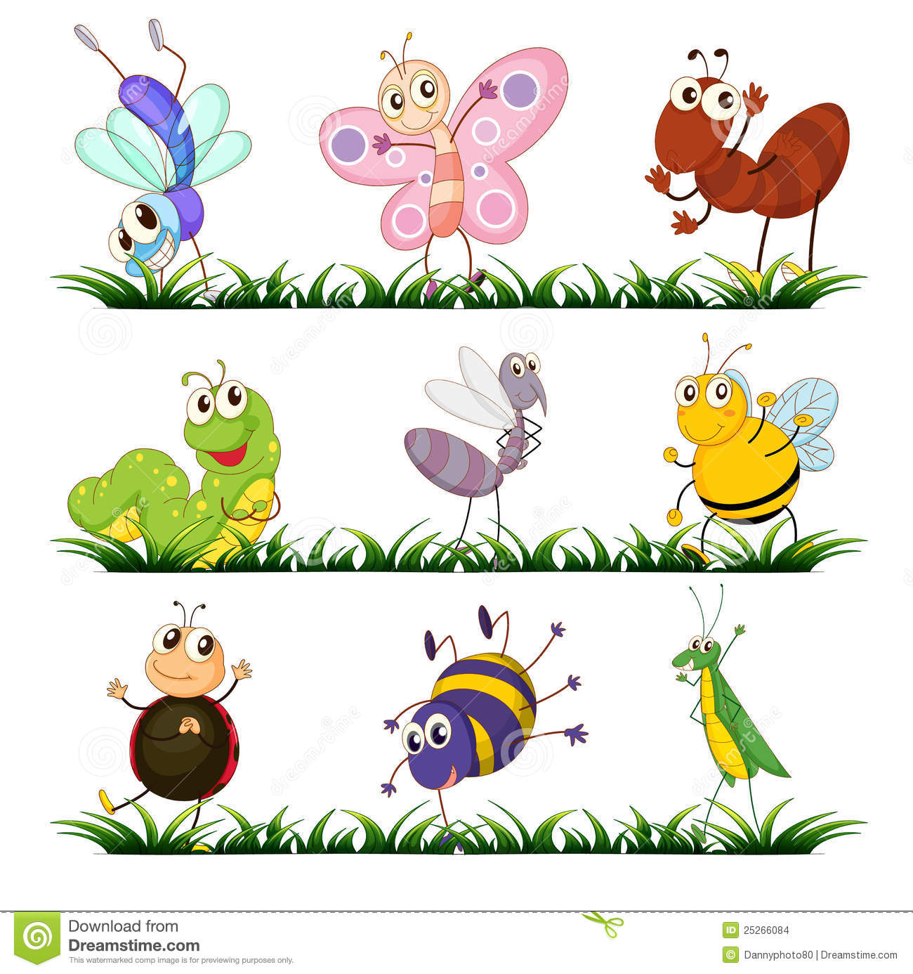 Insects Stock Illustration Illustration Of Gesture
