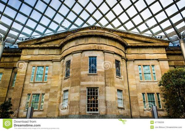 Courtyard National Portrait Gallery Washington DC