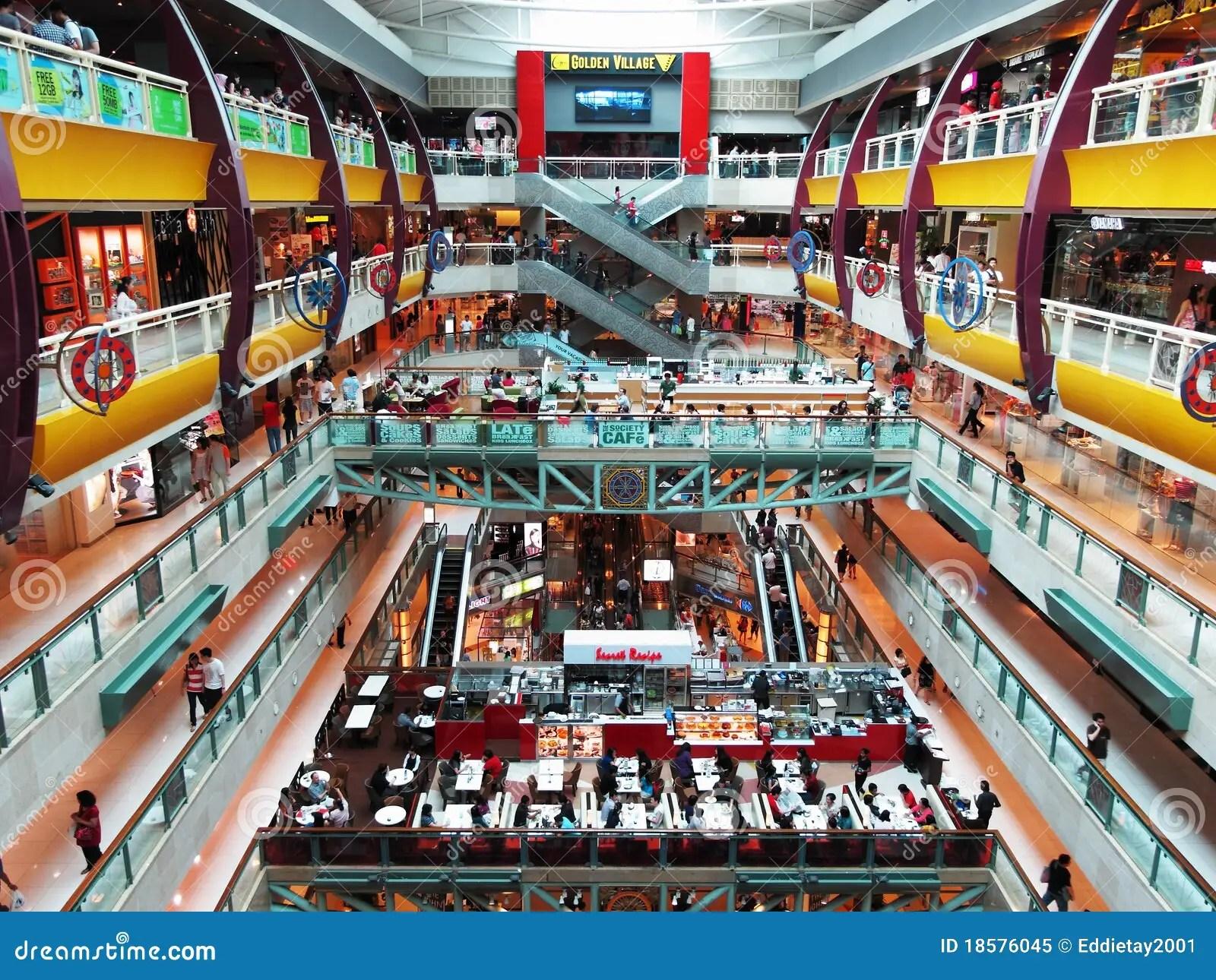Inside Plaza Singapura Shopping Mall In Singapore