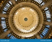 Rotunda In Idaho State Capitol Stock