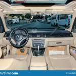 Inside View Of The Modern Bmw Car Board Editorial Photo Image Of Exhibition International 154846851