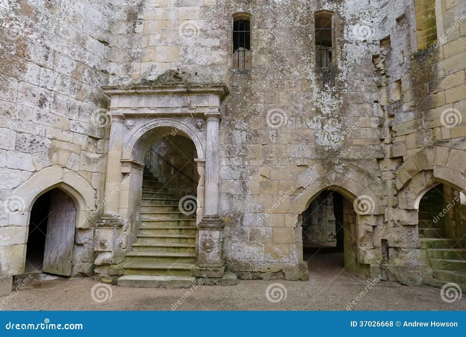 Inside Wardour Castle Royalty Free Stock Photos  Image