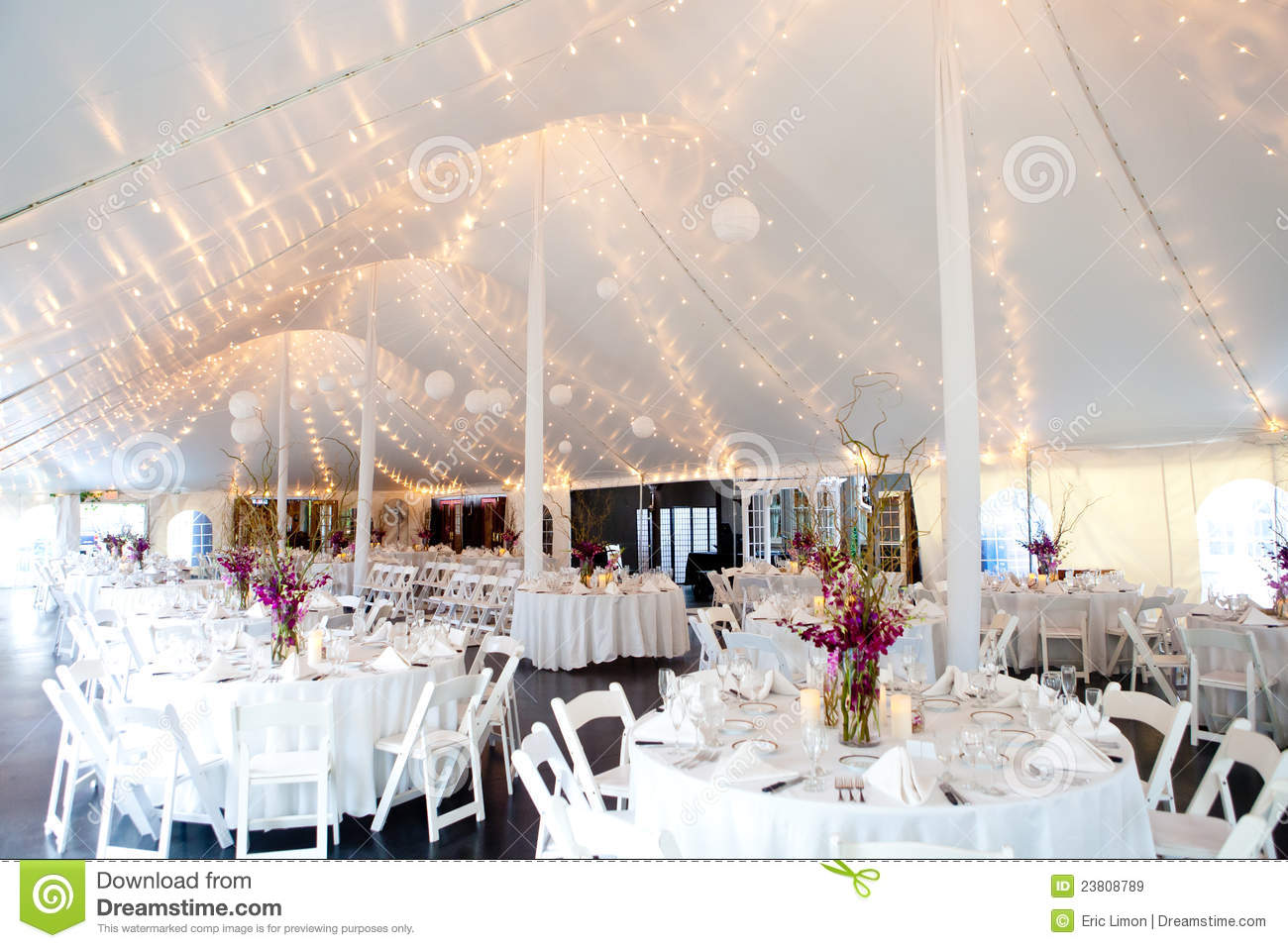 white dining chairs set of 4 walmart game inside a wedding tent royalty free stock images - image: 23808789