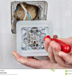 install wall light switch connect to electrical wiring tighten surface mount electrical wiring to download surface mount electrical [ 1300 x 957 Pixel ]