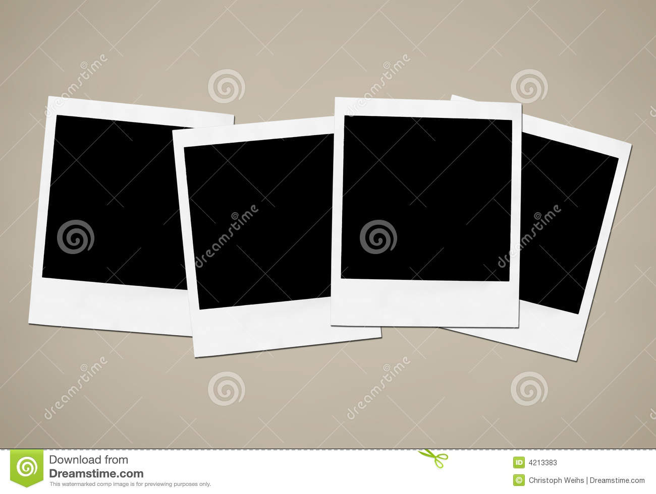 Instant Camera Frames Stock Photos Image 4213383