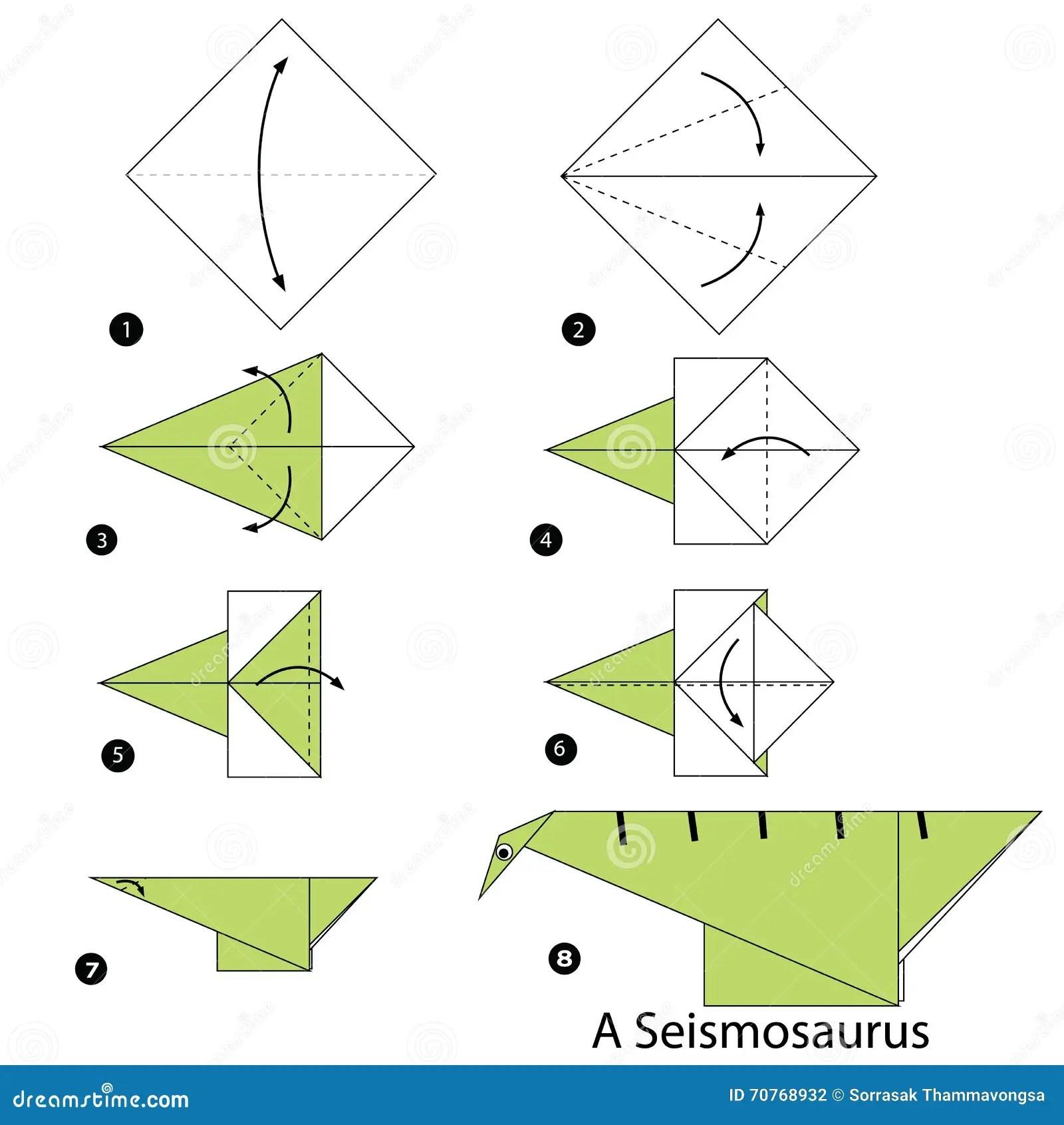 Instructions Tapepartape Comment Faire Le Chien D Origami