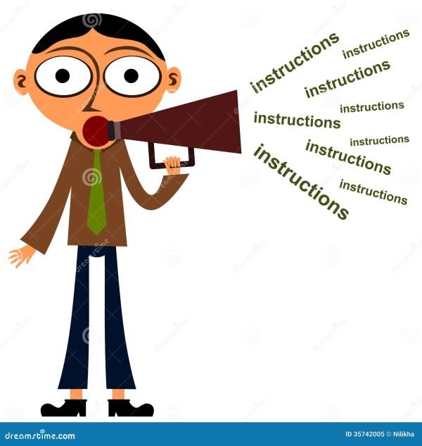 Instructor Stock Illustration. Illustration Of