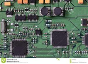 Integrated Circuit Board Royalty Free Stock Photo  Image: 34337235