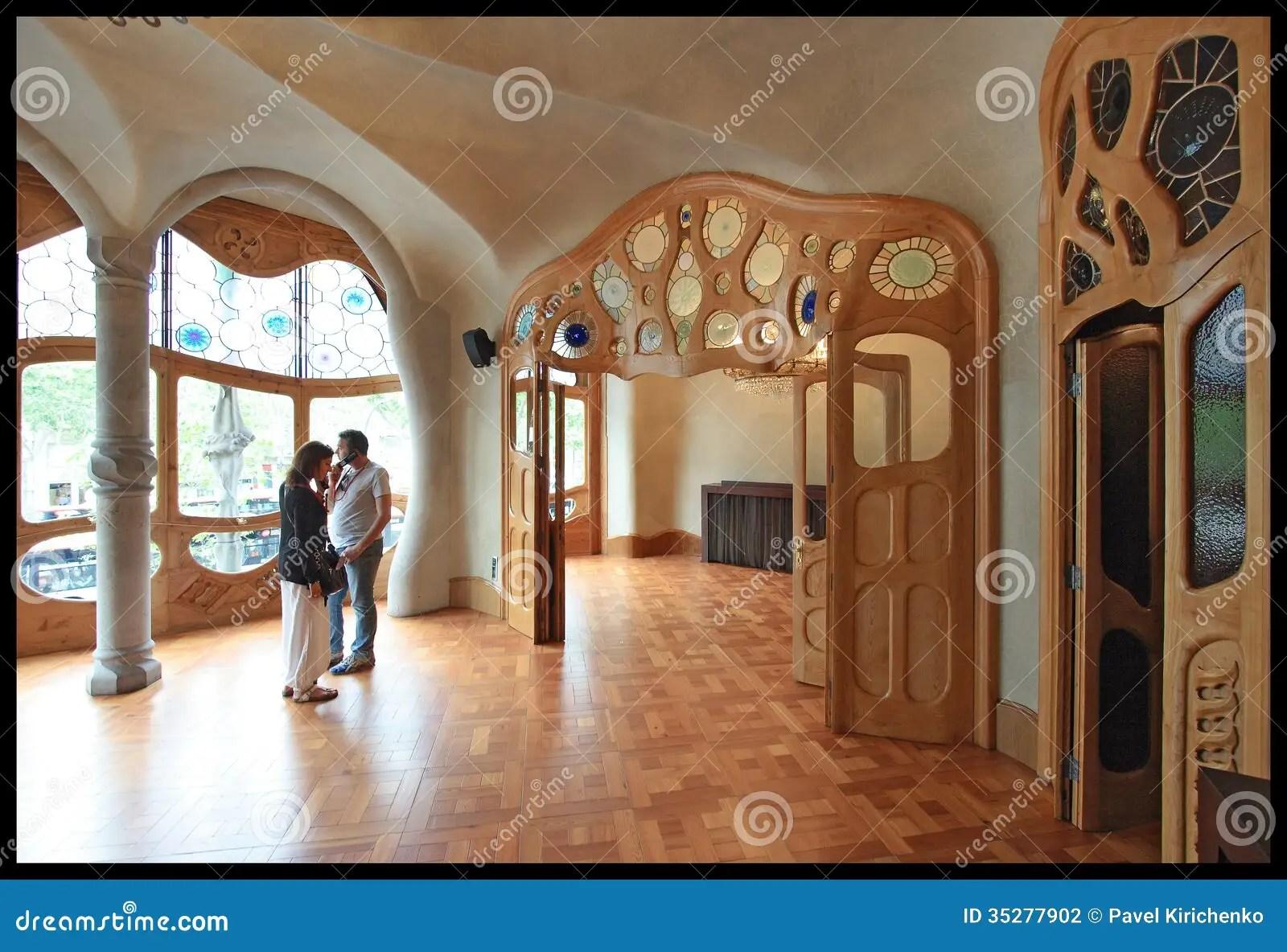 Interior Of Casa Batllo Editorial Photography  Image 35277902