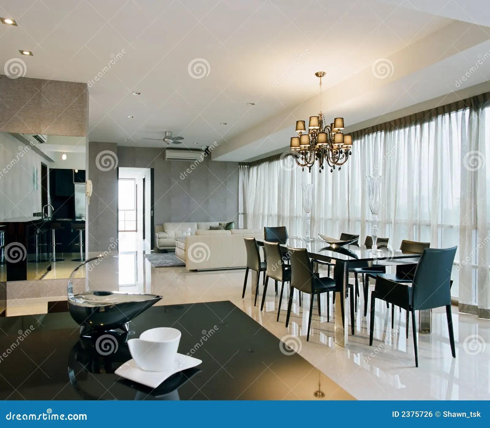 Interior Design  Dining Area Stock Photo  Image 2375726