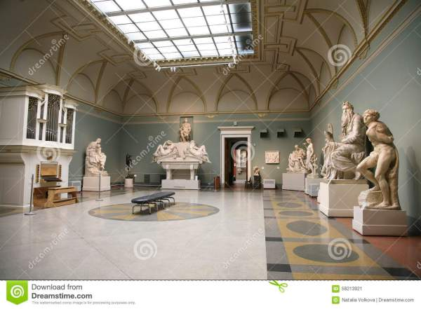 Pushkin Museum of Fine Arts Interior