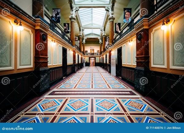 Interior Hallway In National Portrait