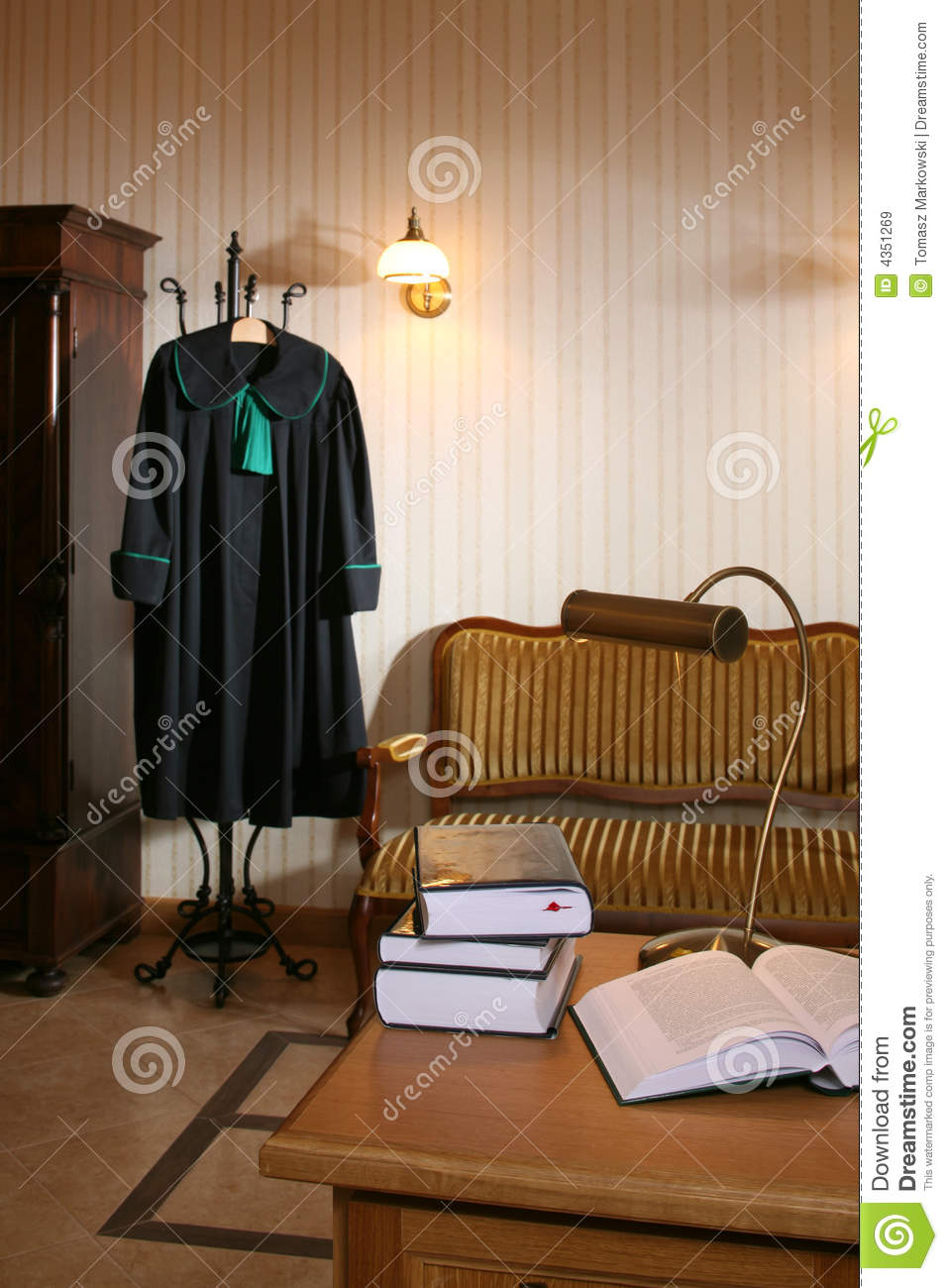 Interior Of A Law Office Stock Image Image Of Attorney