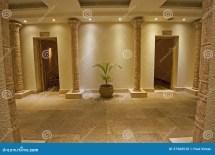 Interior Of Luxury Health Spa Stock