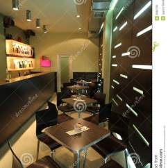 Chair Latest Design Bistro Style Table And Chairs Interior Of A Modern Cafe Royalty Free Stock Image - Image: 8382706
