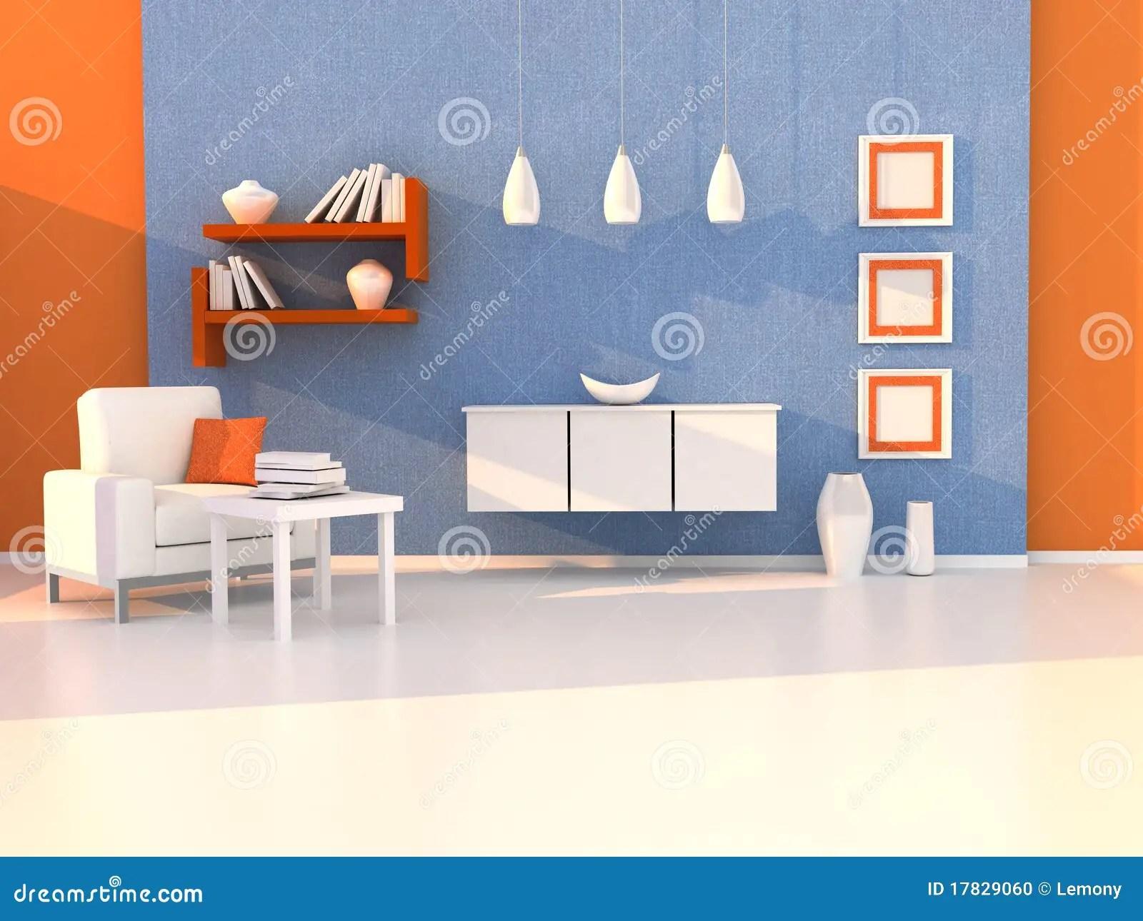 Interior Of The Modern Room Study Room Stock Photo