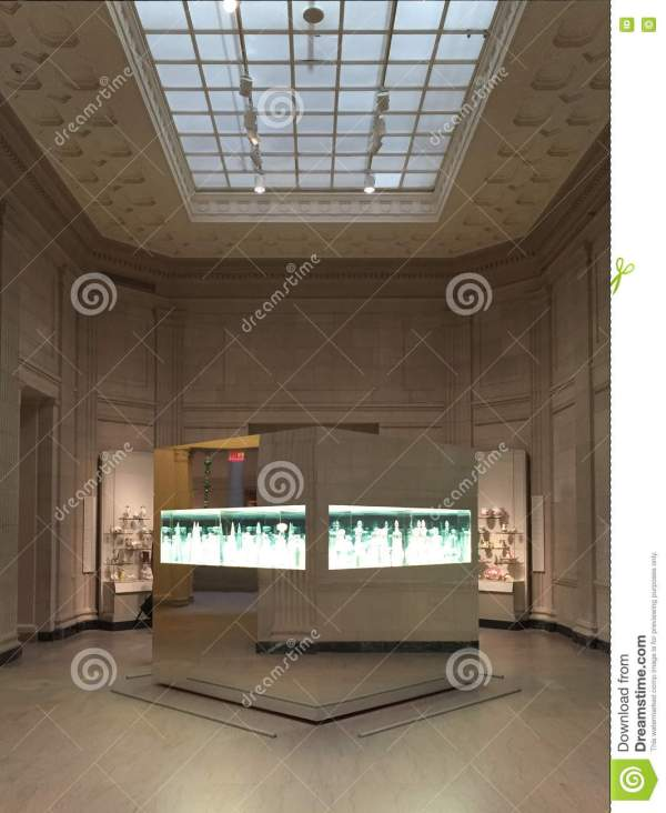 Interior Of Museum Fine Arts Boston Usa Editorial - Historic