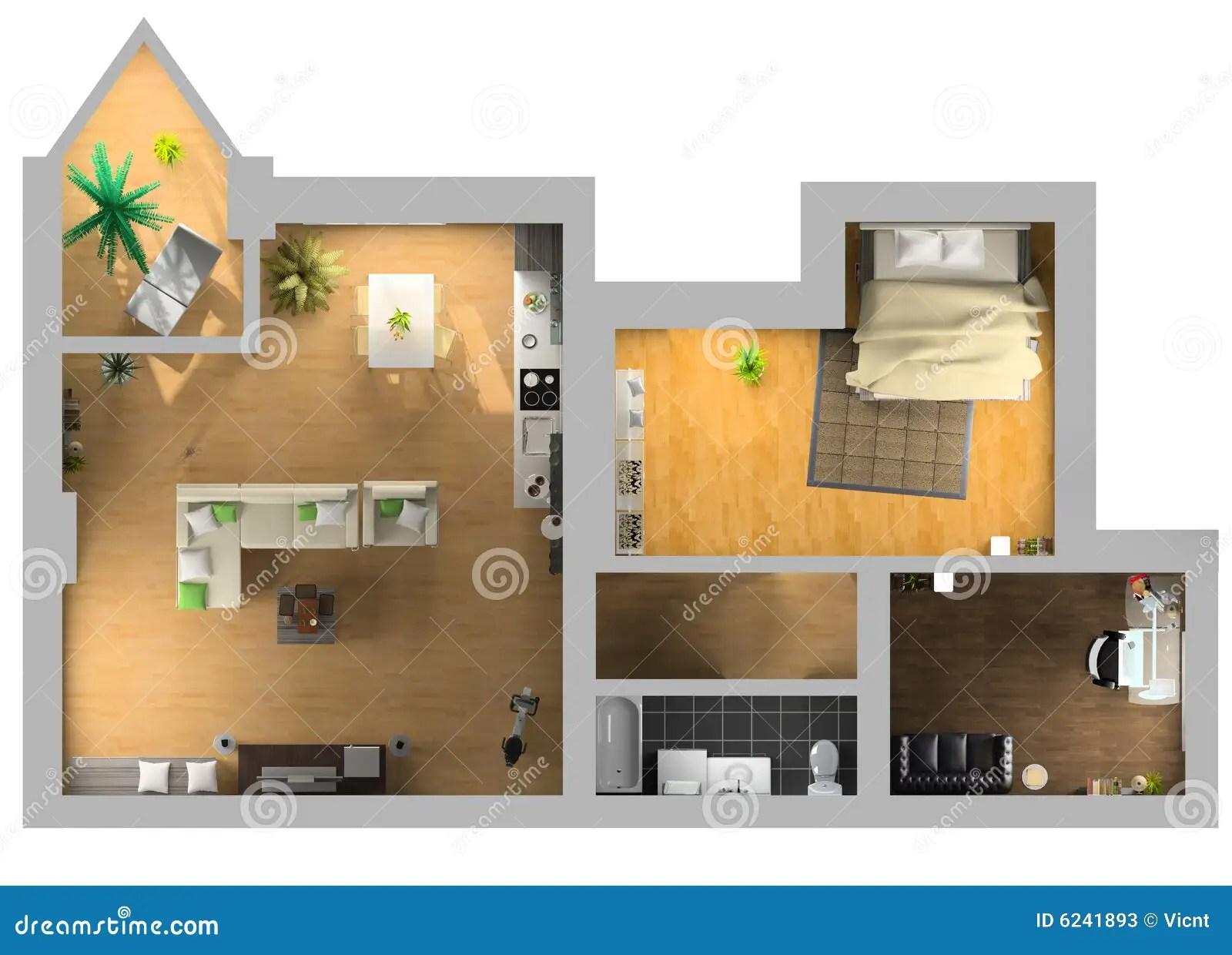 Interior Plan Stock Photos Image 6241893