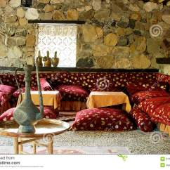 Cover For Garden Sofa Set Cheap Sleepers Interior Of Traditional Turkish Restaurant Stock ...