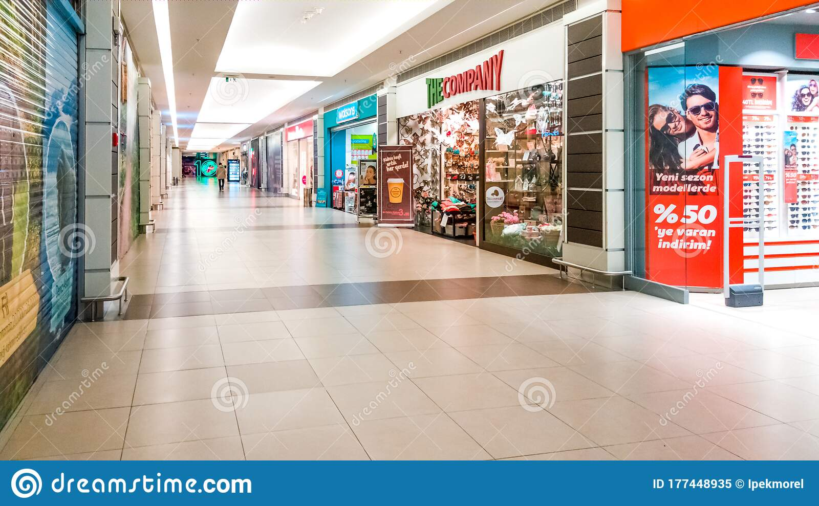 Interior View Of A Shopping Mall In Eskisehir. Turkey Editorial Image - Image of glasses. horizontal: 177448935