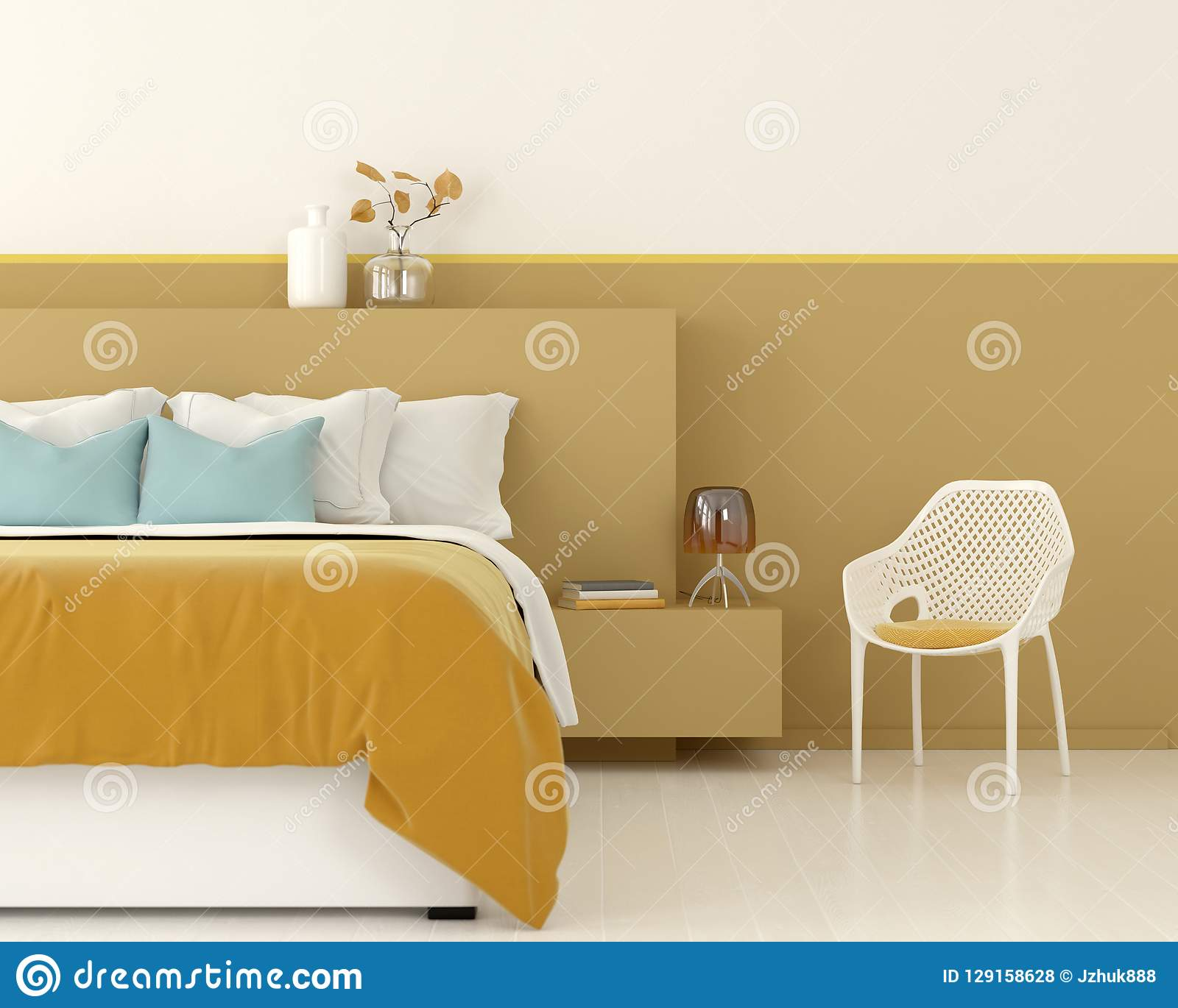 yellow bedroom chair metal folding chairs in bulk interior of a stock illustration with white