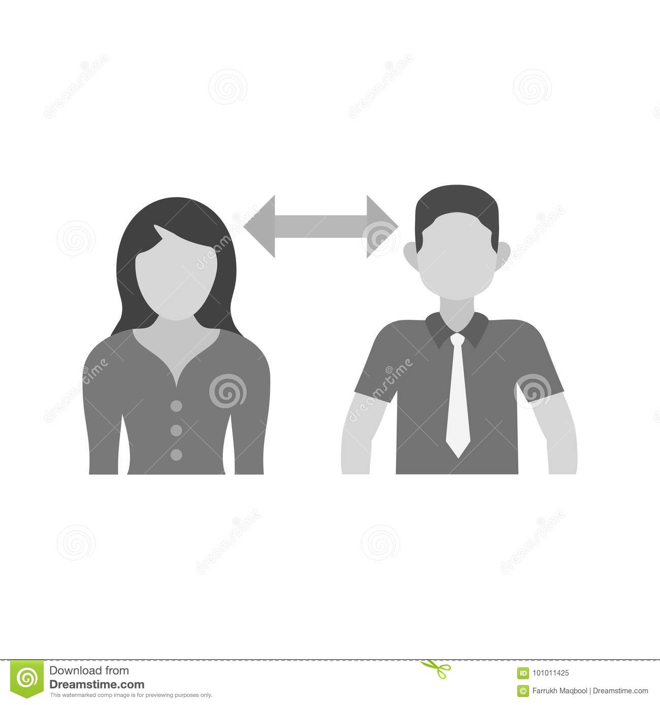 Interpersonal Relationships Stock Vector
