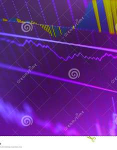 Investing and concept gain profits with faded candlestick charts also rh dreamstime