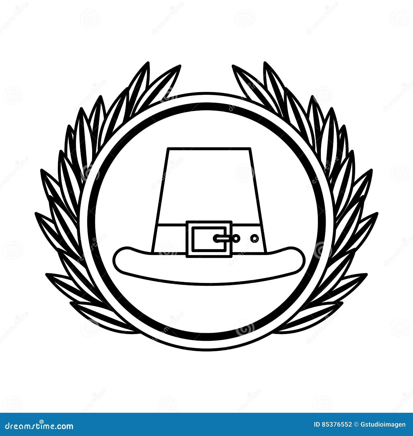 Irish Elf Hat Icon Vector Illustration
