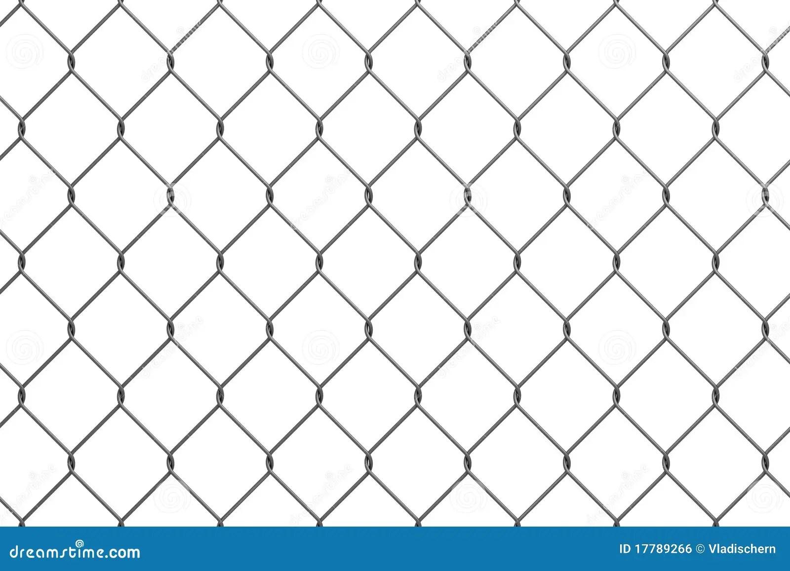 Iron wire fence stock illustration. Image of metallic