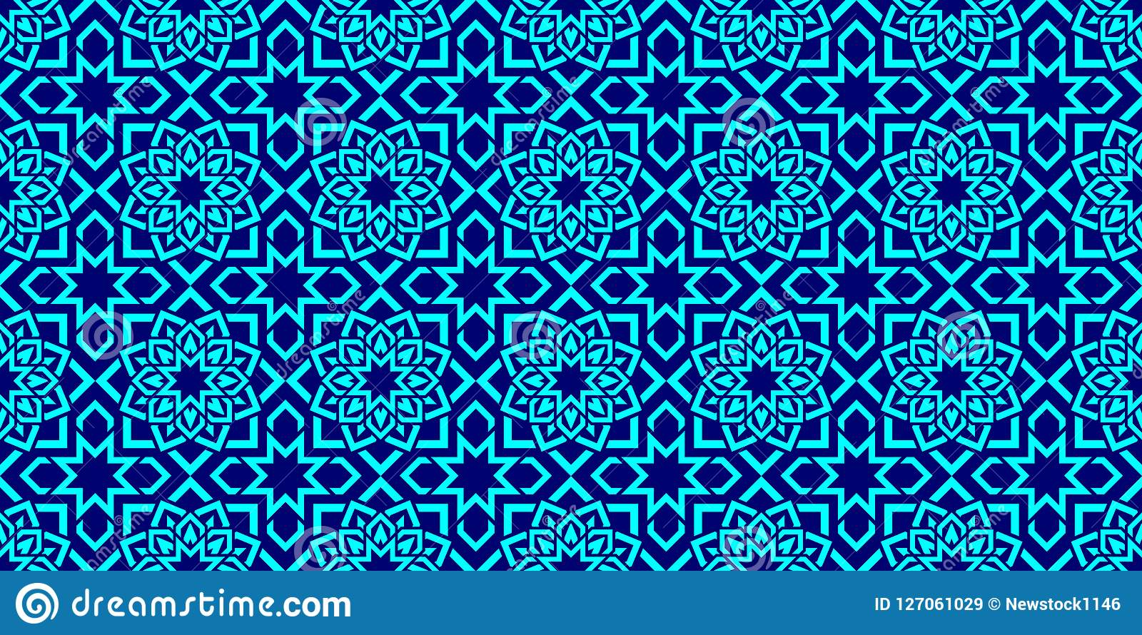islamic background arabic repeat