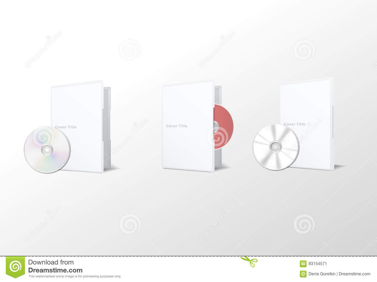 hight resolution of isolated cd disk