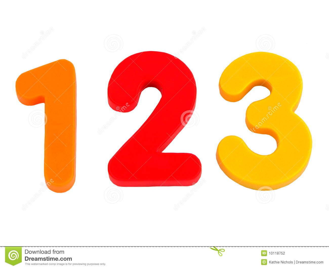 isolated numbers 1 2