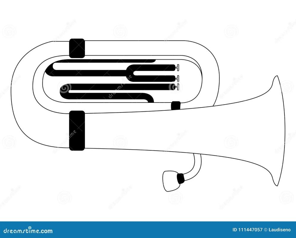 medium resolution of isolated tuba icon musical instrument
