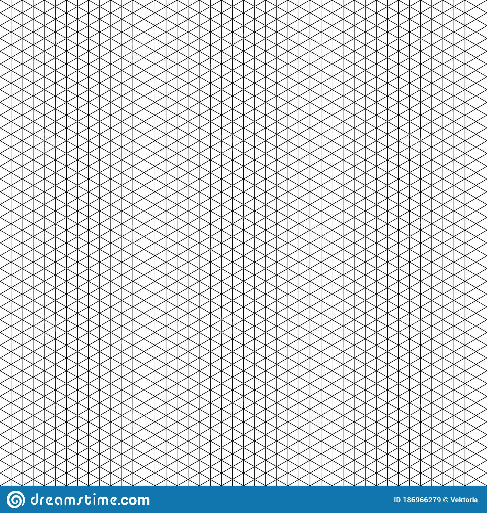 Isometric Projection Grid Background 3d Solid Illustration