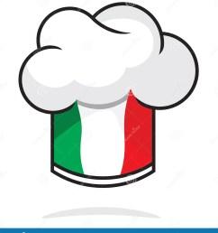 italian chef hat [ 1291 x 1300 Pixel ]