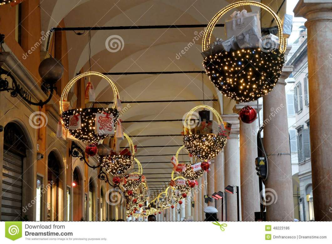 italian christmas decorations editorial photo image of holly