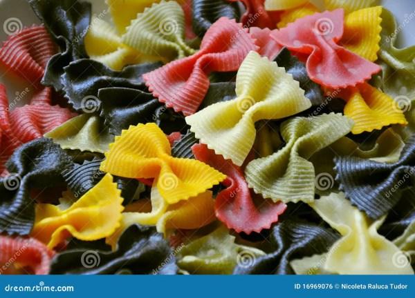 Italian Food Pasta Royalty Free Stock - 16969076