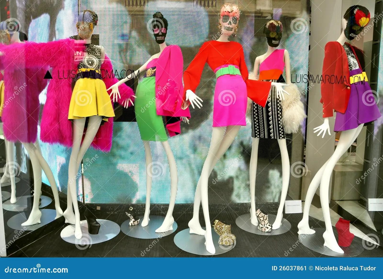 Italian Luxury Fashion Shop In Florence Editorial Photo  Image 26037861
