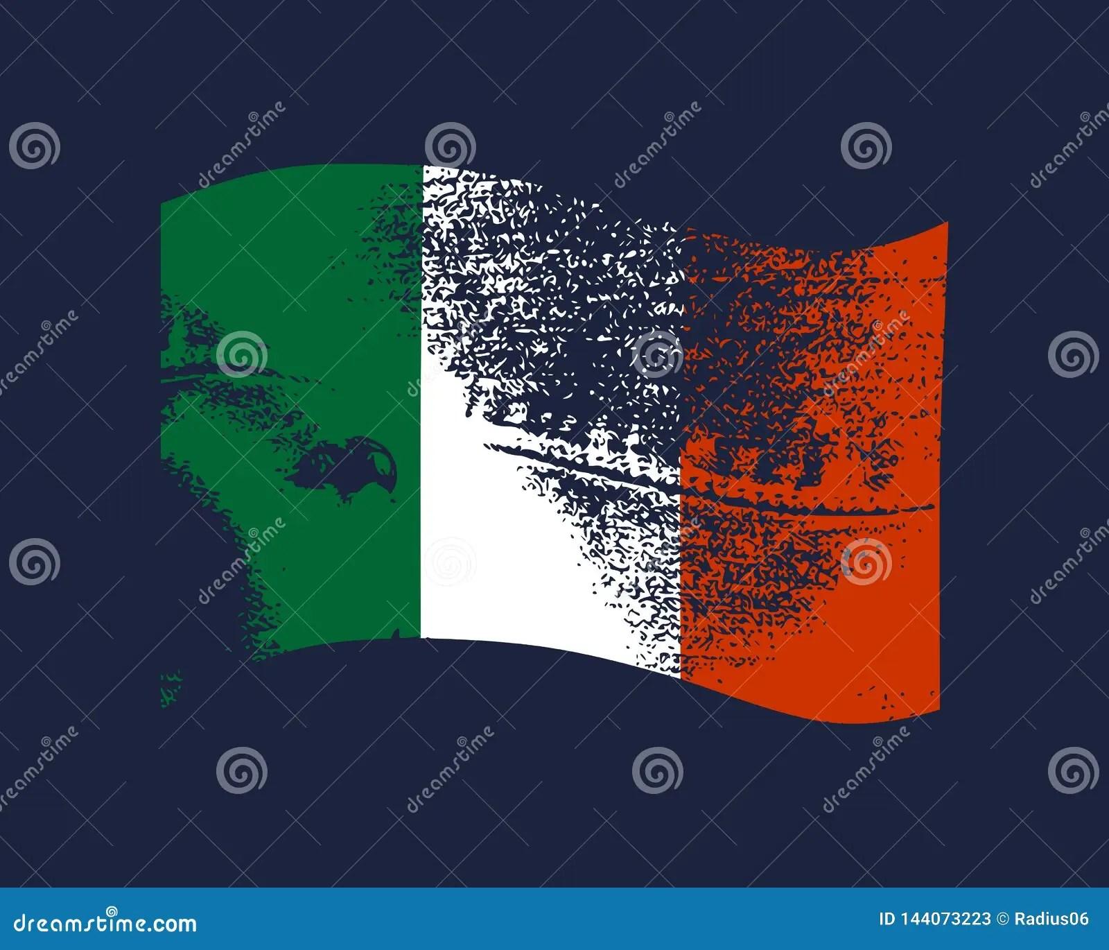 italy flag design stock