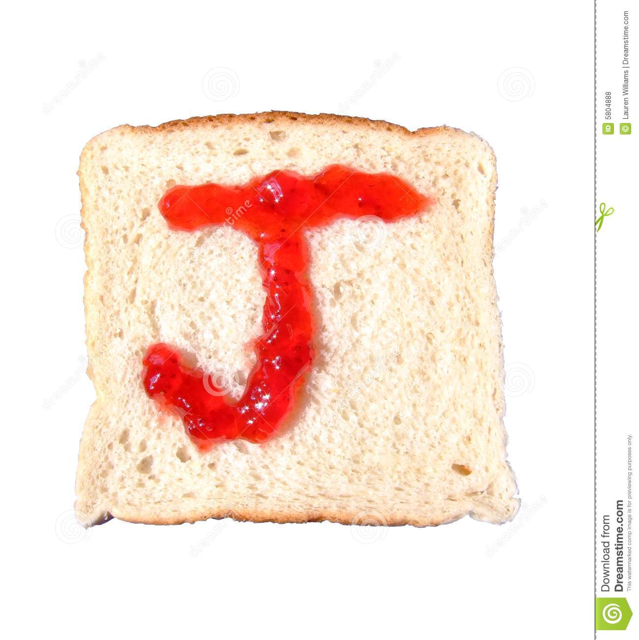 J Is For Jelly Royalty Free Stock Photos
