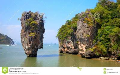 James Bond Island stock photo. Image of exotic, tropical ...