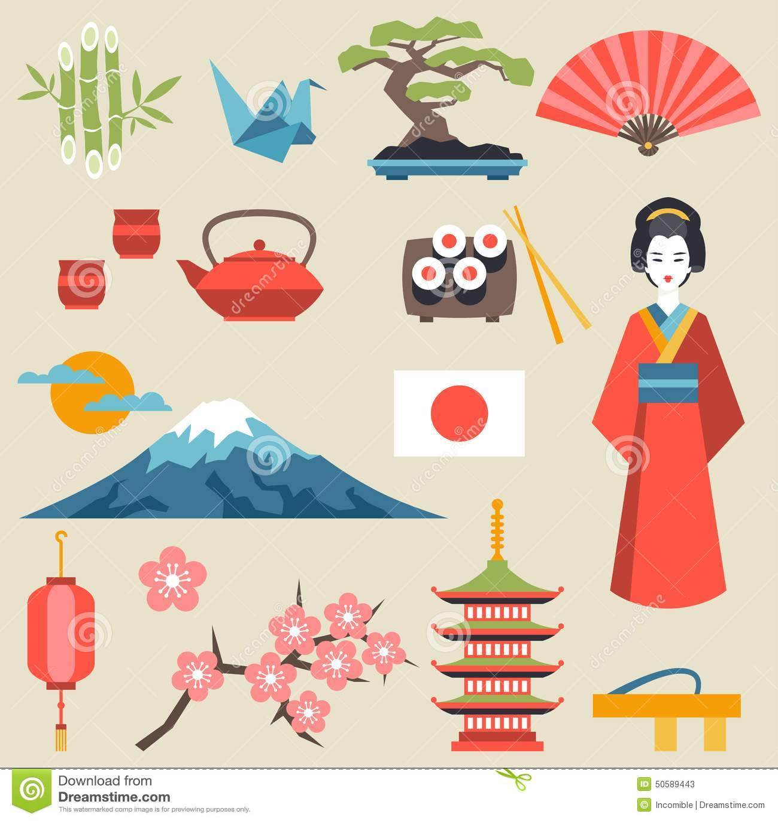 Japan Culture Symbols Gallery