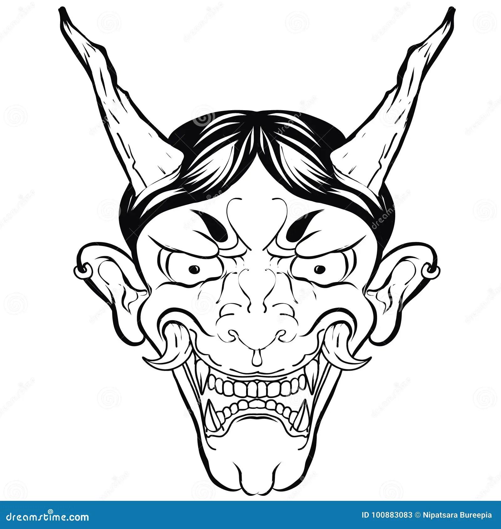 A Demons Face