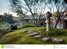 Japanese Garden Stock Of Architecture Home