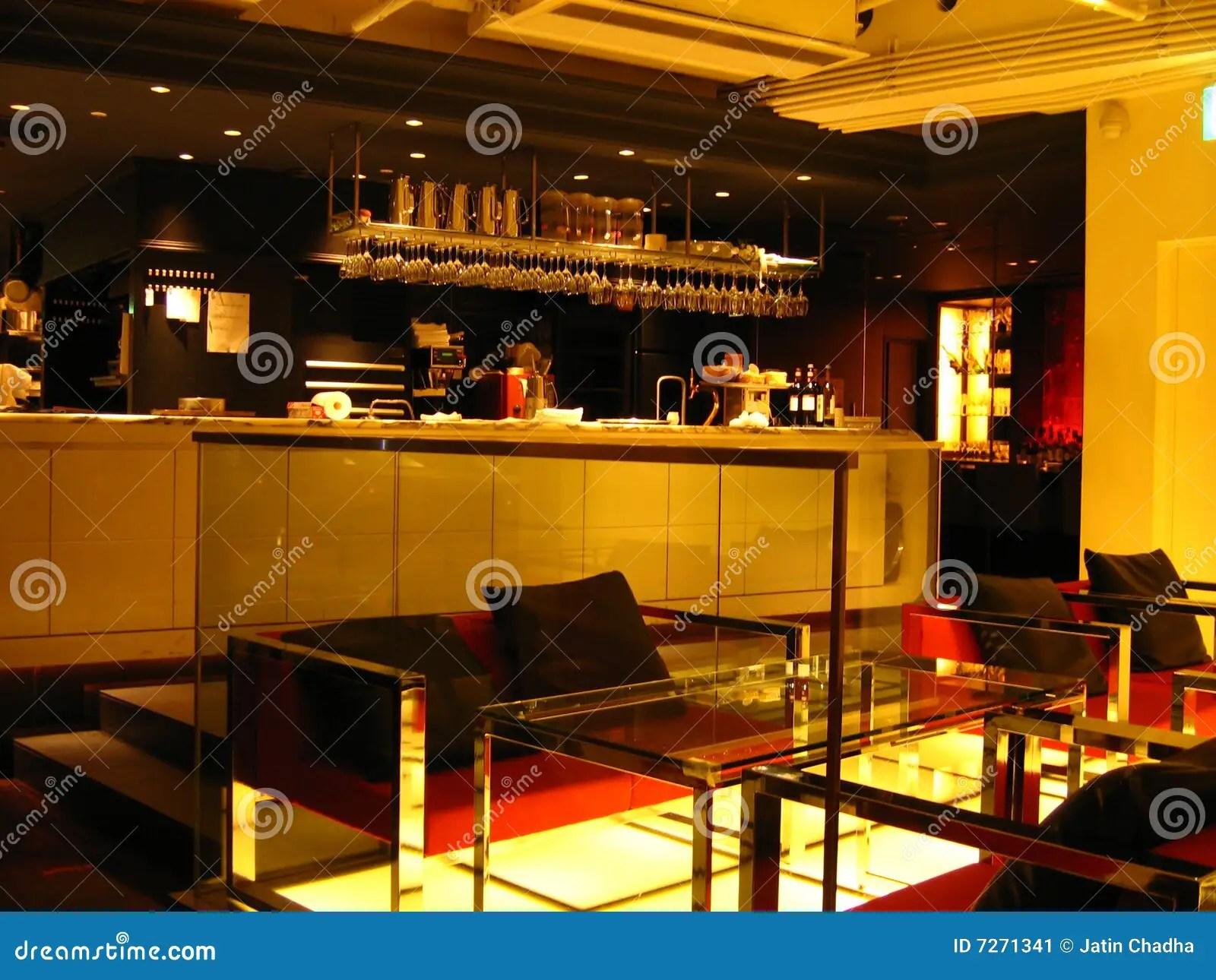 Japanese Lounge And Bar Stock Image  Image 7271341