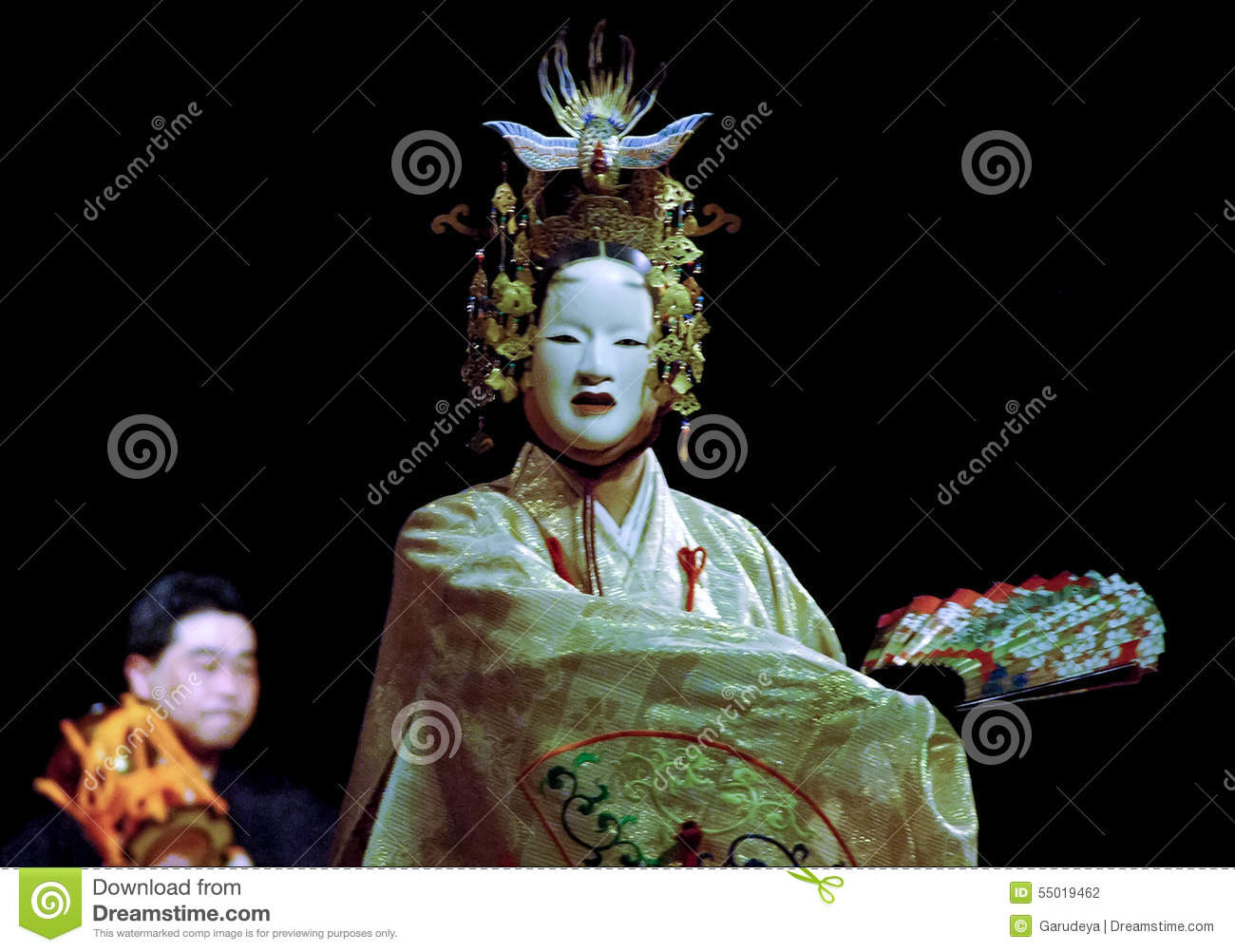 Japanese Noh Theatre Editorial Photography Image Of Solo