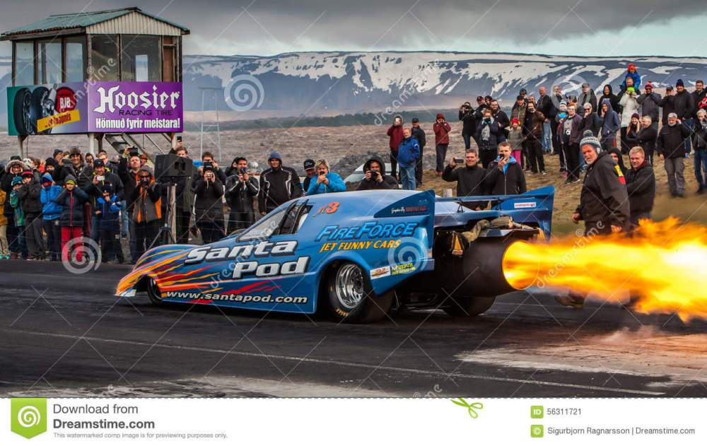 medium resolution of engine flames from the fireforce 3 jet funny car at drag racing event in iceland 2015