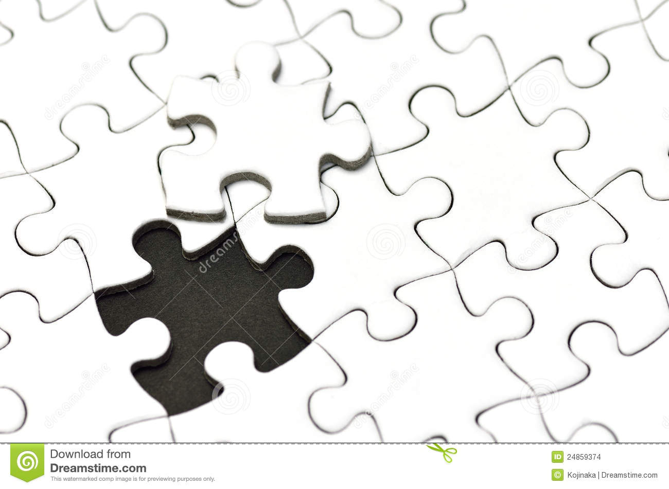 Jigsaw Puzzle Stock Images